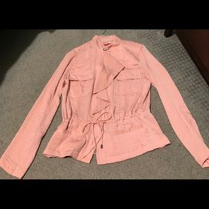 Rosy pink blouse